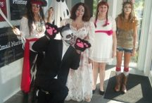 Costume Contest / Our annual Halloween costumes contest at the Dog House!!