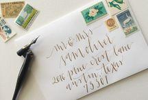 Wedding Invitation Design and Ideas / Wedding invitations we've created for weddings around the world.