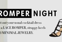 Evening Rompers / www.shoptiques.com/look-books/evening-rompers