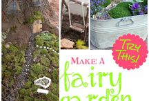 Fairy Garden / Miniature fairy garden