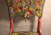 Mosaic Chairs & Tables