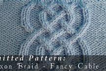 Косы/ knitted braids