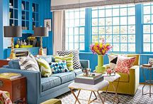 Lounge room colour