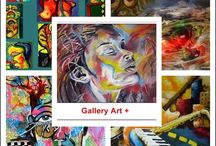 Gallery Art + / Painting is like silent poem......