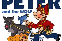 Peter and the Wolf / Elementary Music Education Resources for Peter and the Wolf, including a Prokofiev Biography for Kids, Composer Worksheets, Listening Maps, Coloring Pages, and Matching Games / by MakingMusicFun.net