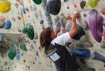 climbing and bouldering / climbing and bouldering