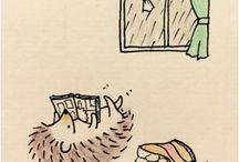 rysunki jeża