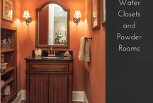 Bathrooms and Water closets / Amazing custom bath and powder rooms.