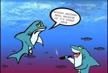 Pontoon cartoons! / Funny cartoons involving pontoon boats
