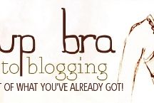 Push-Up Bra Blogging course / You can read all about the course here: http://notesonpaper.blogspot.co.uk/p/push-up-bra-blogging.html but, in short, this series is aimed at giving a boost to those of you who like the idea of blogging ... but who, from time to time, feel a little, well ... flat.  This board is to store all the posts in the series as they go live.
