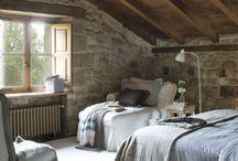 stone cottage interior
