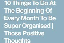 Organising