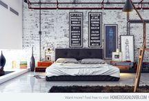 Industrial Interiors - Bedrooms