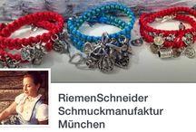 Tracht ❤️ Tradition / Trachtenschmuck aus Handarbeit ❤ riemenschneider-manufaktur.de ❤️ München ❤️