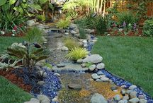 Landscaping Rocks / Different types of small and large Landscaping Rocks for sale and ideas for inspiration. From fake and artificial to natural stone landscaping rocks. - http://plantedwell.com/landscaping-rocks/
