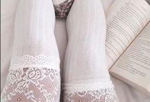 Socks, stockings...