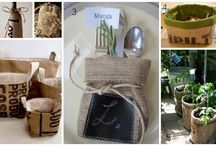 All things burlap!