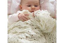 picot baby blanket