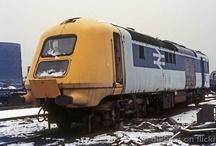 vlaky - severní Evropa