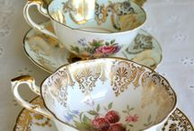 Tea Cups / I can never get through any day without a few cups of tea.  Lately I have found a love for old fashions china cups with saucers and would like to start my own collection.
