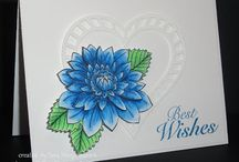 Simply Sara Stampin' - Color Burst Cards