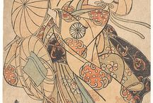 Japanese prints and art