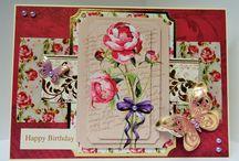 Antique Botanical - Kanban / Inspiration using Kanban Antique Botanical Papercraft Kit