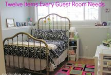 Guest Room/Small Bedroom / by April Sweets
