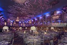 Purple Wedding / Purple Wedding Decor  Photography: Carasco Photography http://www.carascophoto.com  Purple Wedding Flowers Lavender Wedding Decor Lavender Wedding Flowers