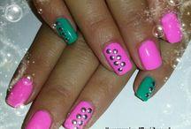 Nails by Konstantina Beltsou / Acrylic nails, Gel nails, gel polish, water tattoo vintage, natural nails, gel colours, square Oval Shape, short nails, long almond nails, Nail artist, nails, nail art, 3D nail art, fashion, beauty, nail design