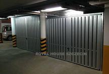 Zabudowy garaży podziemnych / Zabudowy garaży podziemnych Szczecin; komórki lokatorskie Szczecin