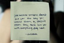 words. / by Linda Moran