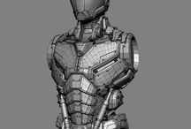3d wireframe / smooth