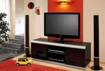 Denver 2 Tv Cabinet / Tv cabinet designed for LCD or LED up to 65'' with max. weight up to 60kg.