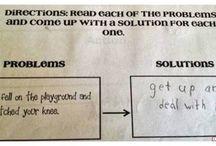 good answers