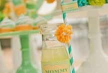 Asqa's baby shower ideas  / by steph brown