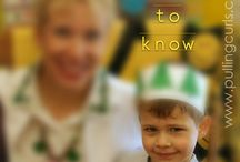 Parent information / Things parents need to know