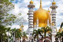 Templomok, mecsetek