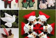 Christmas craft / Ideas for gifts, lower school student projects