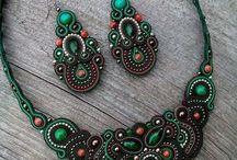 Soutache necklace 2