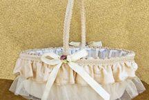 Cosulete nunta / cosulete pentru cocarde, petale de trandafiri, bombonele