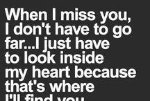u r my world...my life..heartbeats..smy everything missing u..