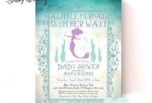 Mermaid Baby Shower / Because a little mermaid is on her way, we have to celebrate with a very special day!