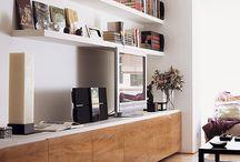 libreros muebles tv