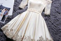 vestido para o casamento no civil