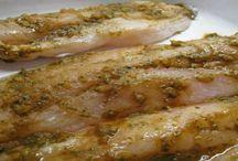 Recetas Chilenas con Pescado / Recetas chilenas que utilizan pescados en su preparación