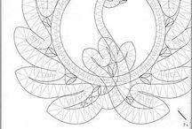 Paličkování - bobbin lace