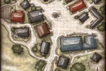 Villages, towns, cities