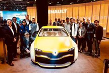 Renault Design Academy India / This boeard is about the experience of Renault special internship program held in Chennai design studio in 2017