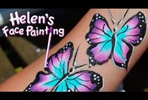 Face painting small designs